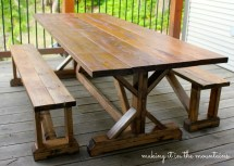 Ana White Diy Pottery Barn Inspired Table - Projects