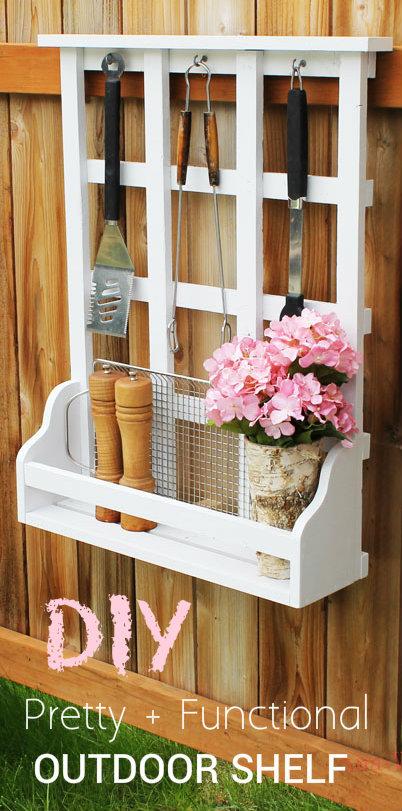 Ana White Outdoor Window Shelf With Lattice Diy Projects