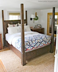Ana White | Dawsen Canopy or Poster Bed - Queen - DIY Projects