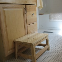 Kitchen Step Stool Gutter Ana White | Cedar Spa Bathroom - Diy Projects
