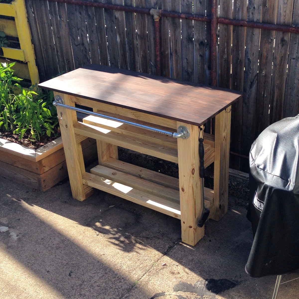 Ana White  Grill Station  DIY Projects