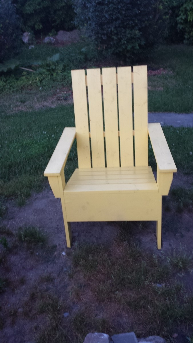 adirondack chair diy ana white blue high back cushions 39s chairs projects
