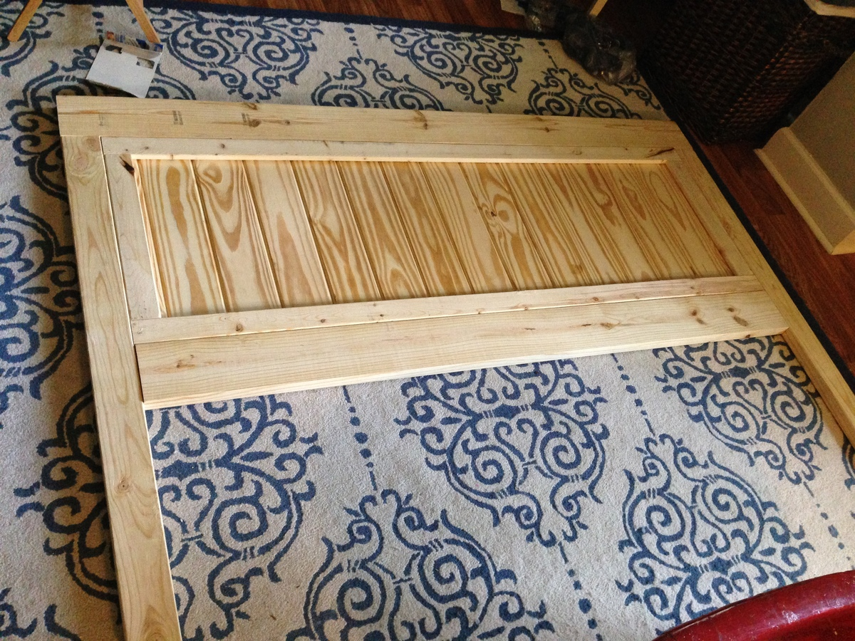 Ana White Fancy Farmhouse King Bed Frame DIY Projects