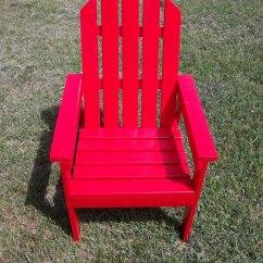 Adirondack Chair Pattern Rocker Gaming Ana White Kid Sized For Charity Diy