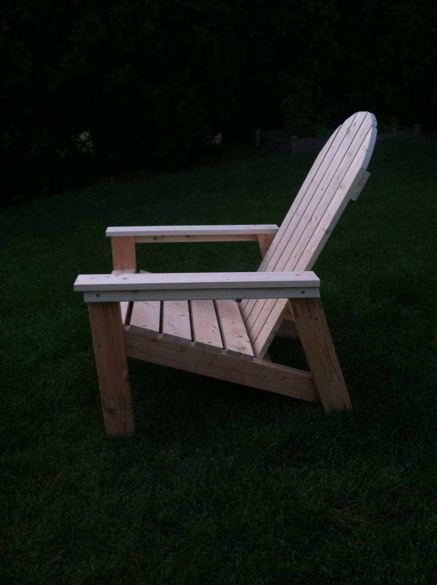 home depot adirondack chairs big rocking chair ana white | and table- thanks ana! (with crate & barrel pillows) - diy projects