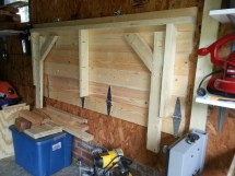 Folding Garage Workbench Plans