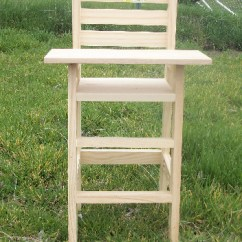 Baby Doll High Chairs Zara Home Chair Covers Ana White Cutest Diy Projects