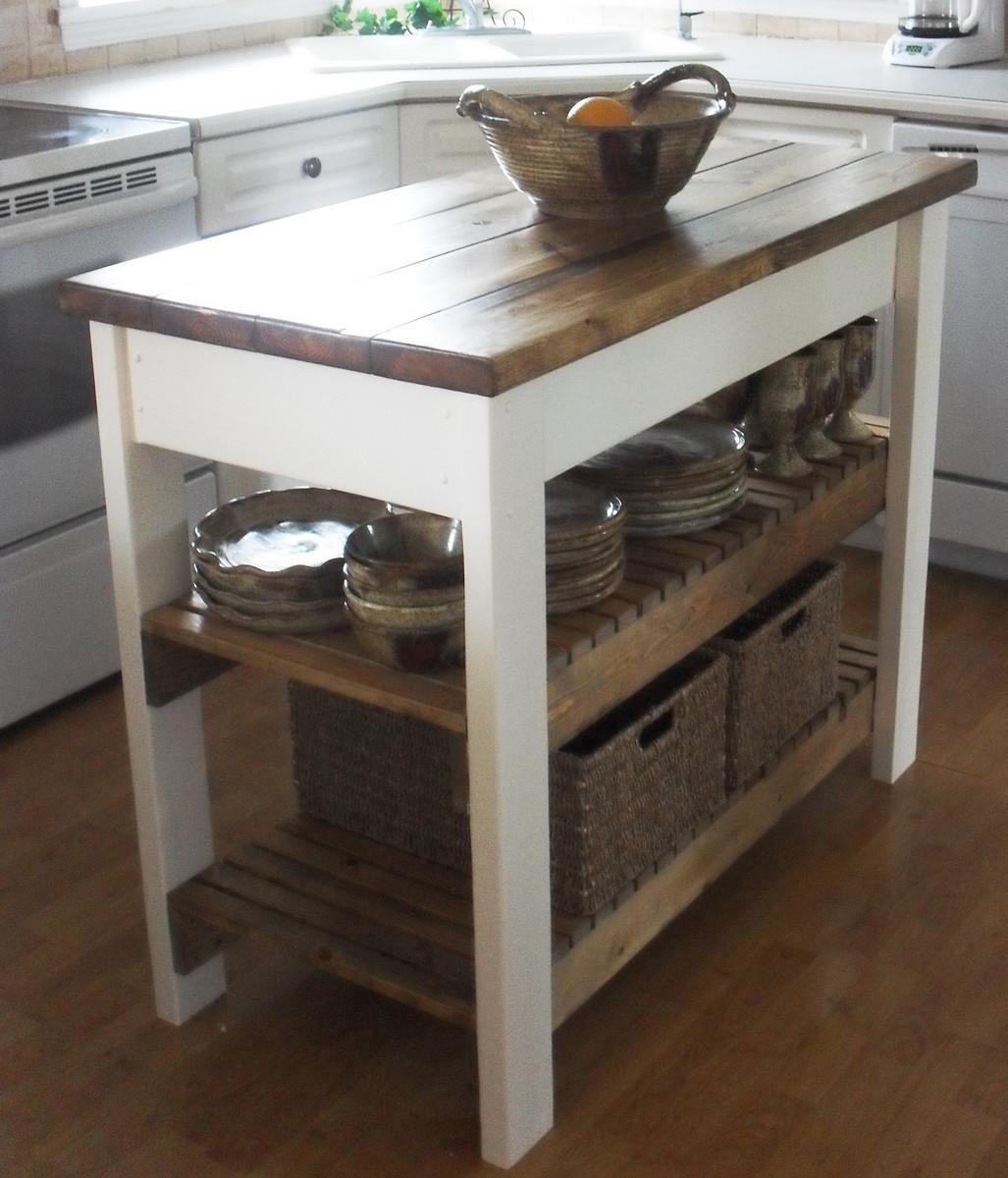 Ana White  Kitchen Island  DIY Projects