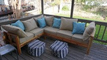 Ana White Outdoor Sectional Couch - Diy Projects