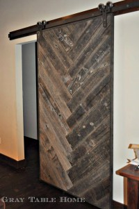 Ana White | DIY Herringbone Barn Door - DIY Projects
