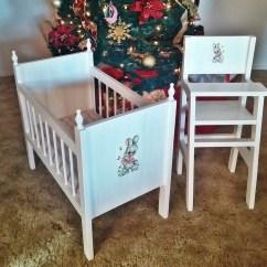 Baby Boy Doll High Chair Media Recliner Chairs Ana White Fancy Crib And Hi Set Diy