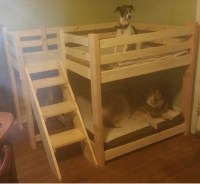 Ana White | Dog Bunk Bed - DIY Projects