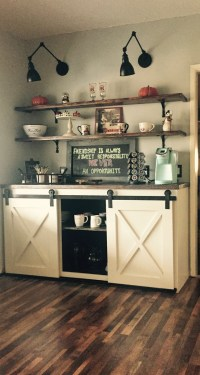Ana White | Coffee Bar - DIY Projects
