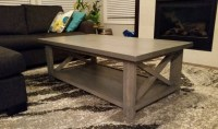 Ana White | Modern X Coffee Table - DIY Projects