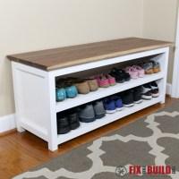 Shoe Cabinet Bench | www.pixshark.com - Images Galleries ...
