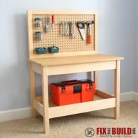 Ana White   Kids Workbench - DIY Projects