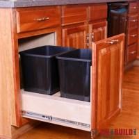 Ana White | Pull Out Trash Can Kitchen Cabinet Upgrade ...