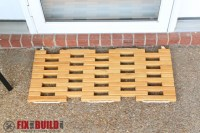 Ana White | Wooden Doormat - DIY Projects
