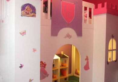 Castle Bunk Beds With Slide