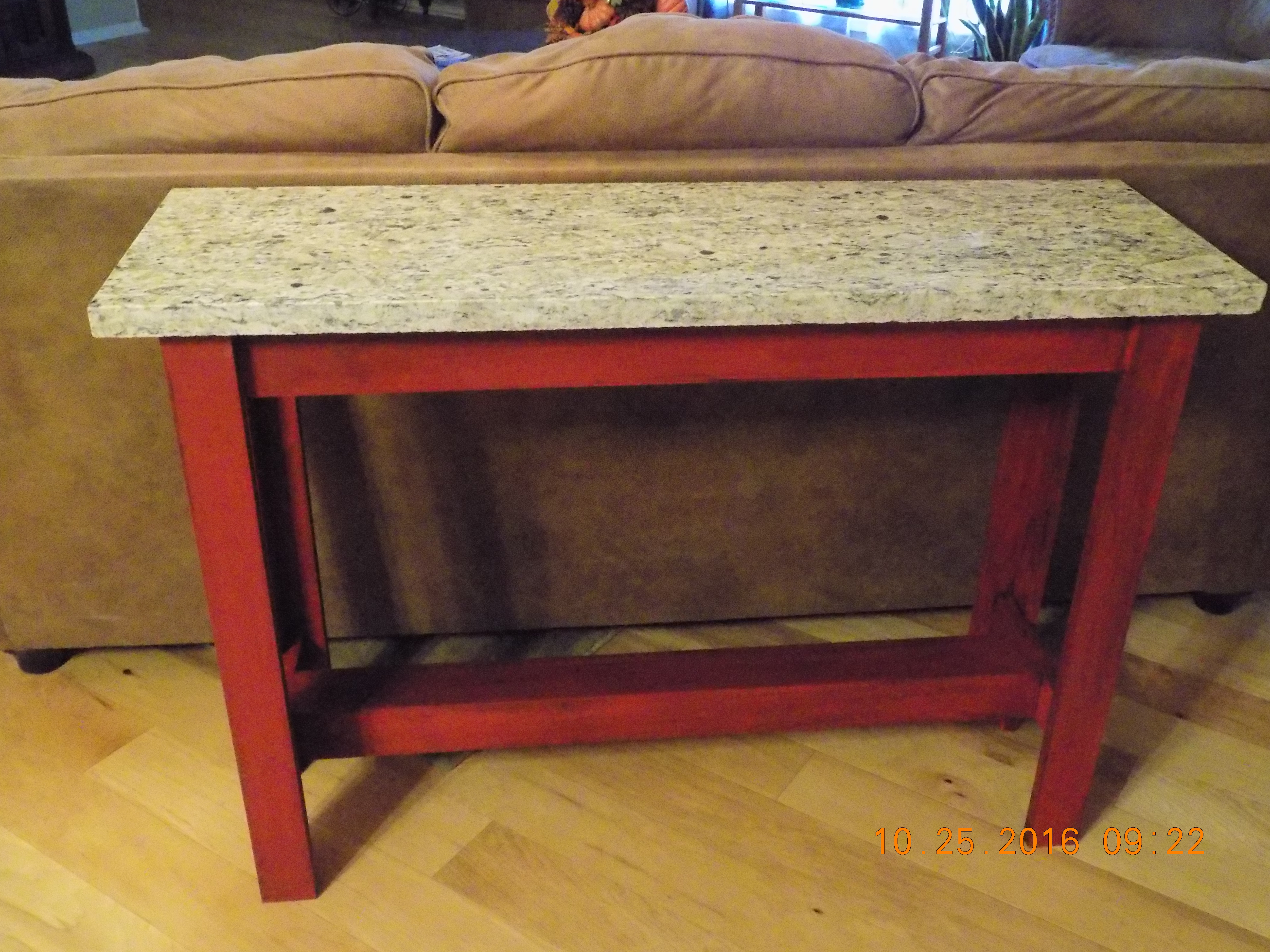 granite top sofa table black lips leather ana white with diy projects