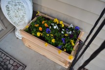 Ana White Cedar Planter Box - Diy Projects