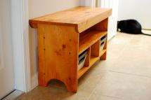 Ana White Kids Country Bench - Diy Projects