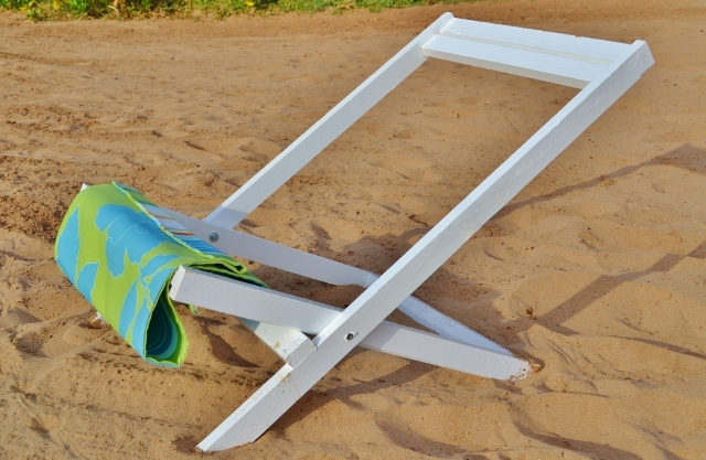 how to make a wooden beach chair folding teak chairs ana white deck or sling child size diy