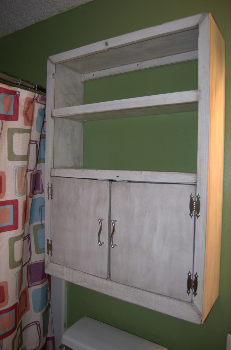 Ana White Easy Bathroom Cabinet Diy Projects