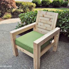 Diy Patio Sofa Plans Kuka Leather India Ana White Modern Rustic Outdoor Chair Projects