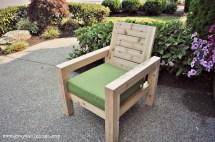 DIY Modern Outdoor Furniture