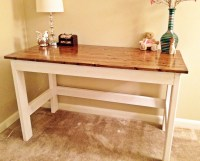 homemade corner desk plans | Quick Woodworking Projects
