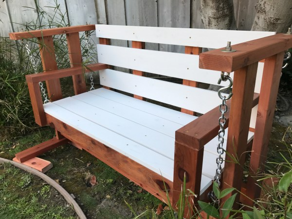 Ana White Porch Swing Glider - Diy Projects