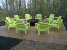 Ana White Simple Outdoor Chairs Firepit - Diy