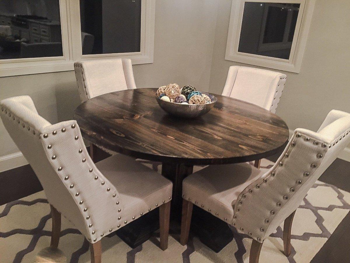 square pedestal kitchen table kitchens direct ana white | 54