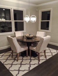 Ana White Round Pedestal Dining Table