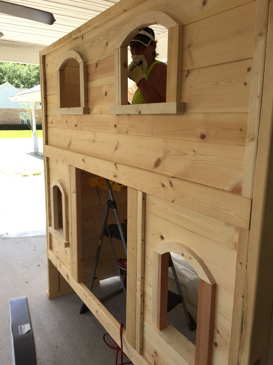 Ana White Sweet Pea Bunk Bed For Viktoria Diy Projects