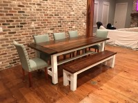 Ana White | Farmhouse Table and Matching Bench - DIY Projects