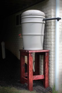 Ana White Rain Barrel Stand And Installation - Diy Projects