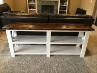 Ana White | X Console Sofa Table - DIY Projects