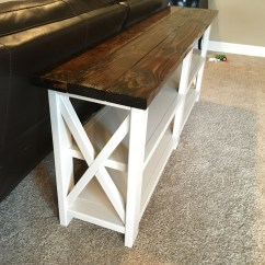 Ana White Sofa Table Stanley Sofas X Console Diy Projects