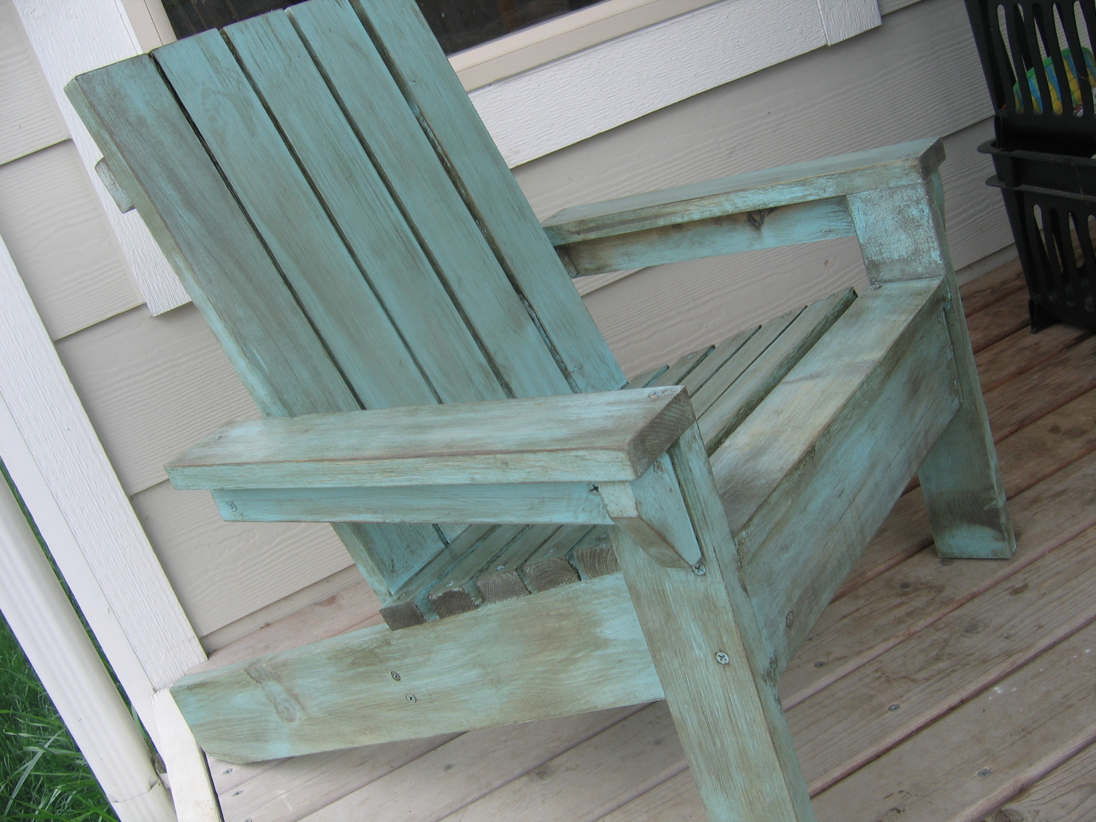 adirondack chair diy ana white pool room chairs bubba s modified little projects