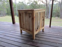 Cedar Boxes With Pallet Wood Ana White