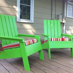 Adirondack Chair Diy Ana White Folding For Living Room Modish Projects