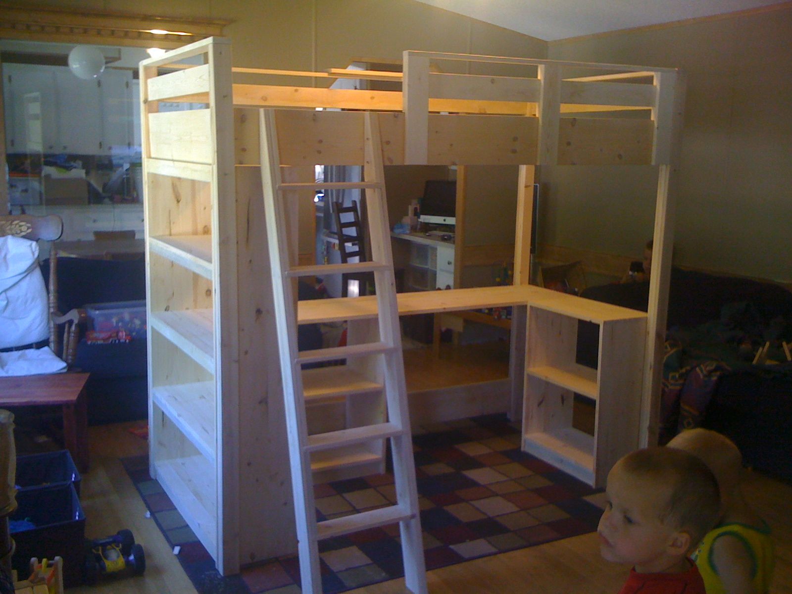 Bunk Bed Desk