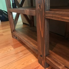 Ana White Sofa Table Art Van Beds Rustic Diy Projects