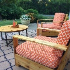 Foam Cushion Inserts For Chairs Barber Sale Craigslist Ana White | Bristol Outdoor - Diy Projects