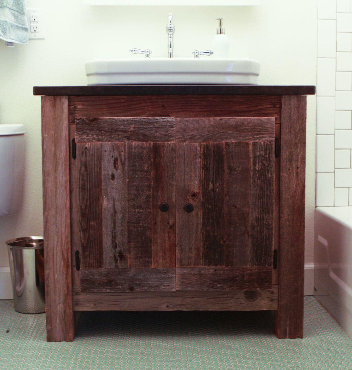 Ana White  Reclaimed Wood Farmhouse Vanity  DIY Projects