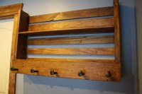 Ana White | Pallet Style shelf & coat rack - DIY Projects