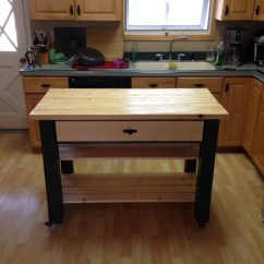 Roller Kitchen Island Grill Ana White Rolling Diy Projects