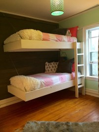 Ana White | Floating Bunk Beds and Desk - DIY Projects